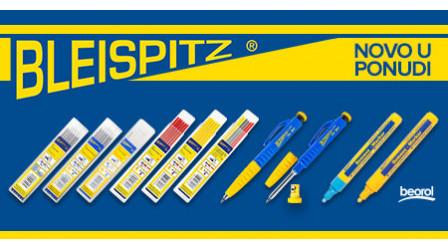 Novo u ponudi – Bleispitz olovke, mine i markeri