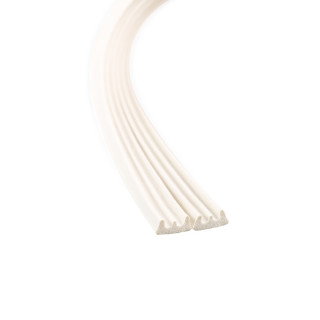 Samoljepljiva dihtung traka 6m, E-profil, bela