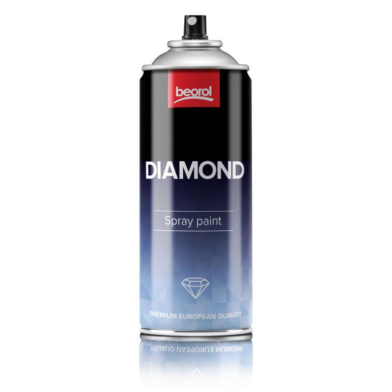 Sprej dijamant siva Grigio Argento